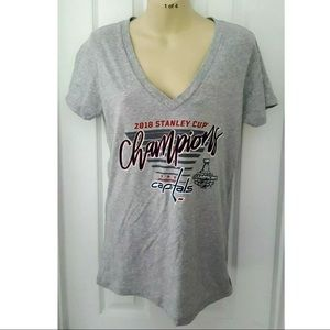 Washington Capitals Stanley Cup Champion Tee Shirt